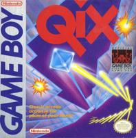 Qix (Game Boy) front cover