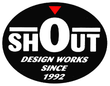 Shout! Design Works logo